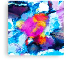 Seas of a Wandering Star Canvas Print
