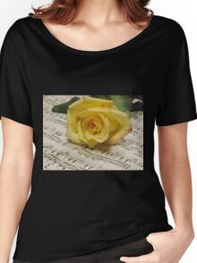 Classical Rose Women's Relaxed Fit T-Shirt