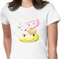 Japan Donuts Womens Fitted T-Shirt