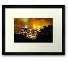Twin Towers 1999 II Framed Print