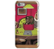Dogs Playing Dungeons & Dragons iPhone Case/Skin
