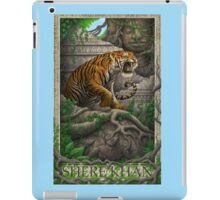 shere khan the bengal tiger iPad Case/Skin