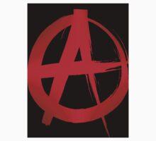 anarchy symbol Kids Tee