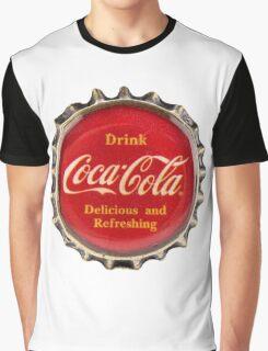 Bottle Cap Graphic T-Shirt