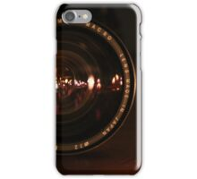 Camera Lens Candle Reflection iPhone Case/Skin