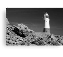 Lighthouse, Portland Bill, Dorset, England. Canvas Print