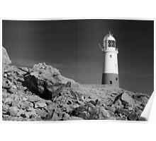 Lighthouse, Portland Bill, Dorset, England. Poster