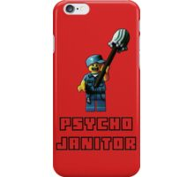 Psycho Janitor iPhone Case/Skin