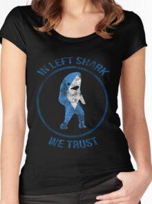 Left Shark - Superbowl 2015 Women's Fitted Scoop T-Shirt