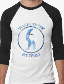 Left Shark - Superbowl 2015 Men's Baseball ¾ T-Shirt