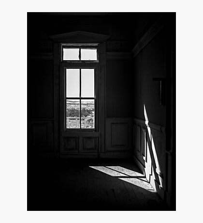 The Window and the Room Photographic Print