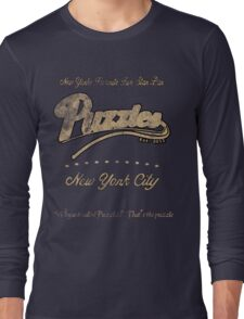 Puzzle's Bar - How I Met Your Mother Long Sleeve T-Shirt