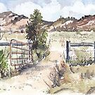 A gate in the Karoo by Maree Clarkson