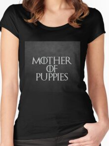 Mother of Puppies Women's Fitted Scoop T-Shirt