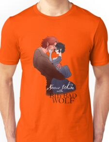 Snow White and the Big Bad Wolf Unisex T-Shirt