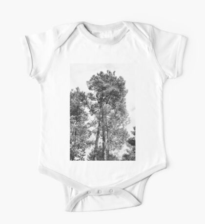 Landscape #1 - Trees One Piece - Short Sleeve