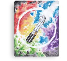 Anakin Light Saber Metal Print
