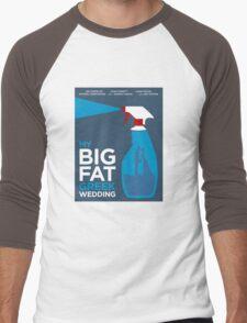 My Big Fat Greek Wedding // Minimalist Art Men's Baseball ¾ T-Shirt