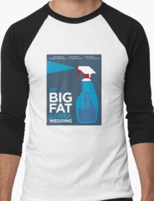 My Big Fat Greek Wedding // Minimalist Art Men's Baseball ¾ T-Shirt