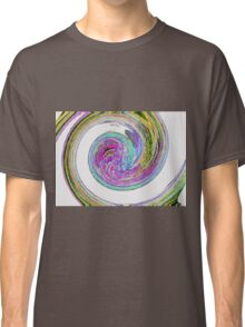 Colour Swirl - Abstract Classic T-Shirt