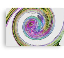 Colour Swirl - Abstract Canvas Print