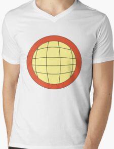 Captain Planet - Planeteer -  fire - Wheeler T-Shirt! Mens V-Neck T-Shirt