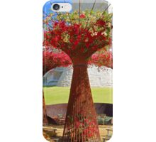 Getty Museum Gardens Study 1  iPhone Case/Skin