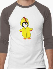 Pengychicken Men's Baseball ¾ T-Shirt