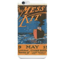 The mess kit Vol. 1, no. 3. May iPhone Case/Skin