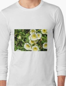 Yellow light flowers in the park. Long Sleeve T-Shirt