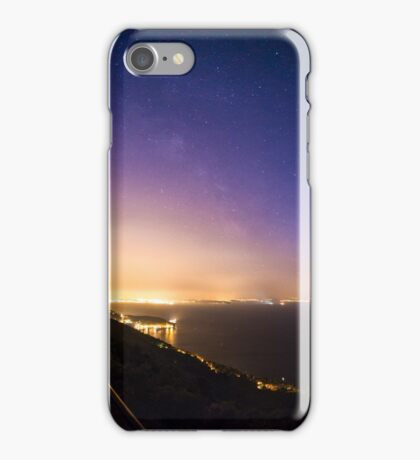 stars on the bay of Trieste iPhone Case/Skin