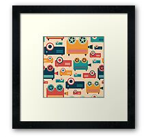 Retro Projectors Framed Print