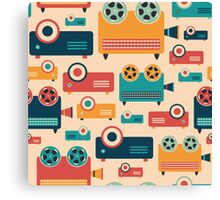 Retro Projectors Canvas Print