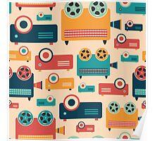 Retro Projectors Poster