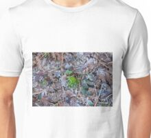 Moss, Leaves and Frost Unisex T-Shirt