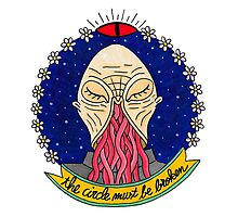 Ood alien face  Photographic Print