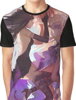 Puella Magi Madoka Magica - Madoka & Homura Graphic T-Shirt