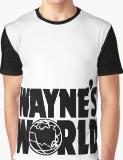 Wayne's World (Inverted) Graphic T-Shirt
