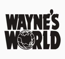 Wayne's World (Inverted) Kids Tee