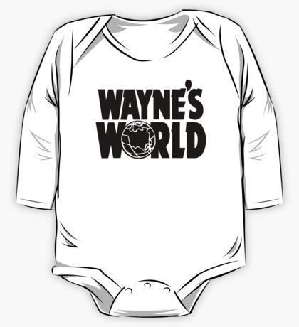 Wayne's World (Inverted) One Piece - Long Sleeve