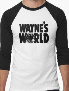 Wayne's World (Inverted) Men's Baseball ¾ T-Shirt