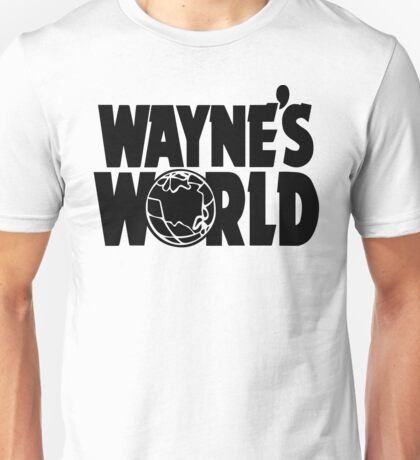 Wayne's World (Inverted) Unisex T-Shirt