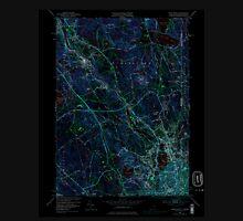 USGS TOPO Map Rhode Island RI Pawtucket 353336 1949 24000 Inverted Unisex T-Shirt