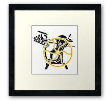 letterpress Framed Print