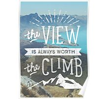 WORTH THE CLIMB Poster