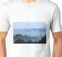 Morning Mist and Trees Unisex T-Shirt
