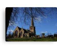 St John's Church Bromsgrove Canvas Print