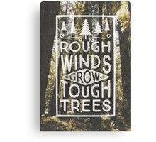 TOUGH TREES Canvas Print