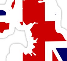 Union Jack United Kingdom Sticker Sticker