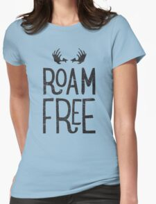 ROAM FREE Womens Fitted T-Shirt